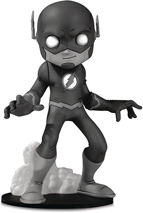 DC Artists' Alley Flash by Chris Uminga Black and White Variant Vinyl Figure