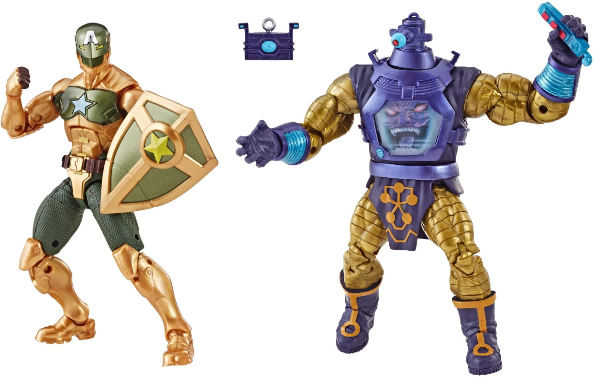 Marvel Legends Arnim Zola and Supreme Captain America 6-Inch Action Figures - Exclusive