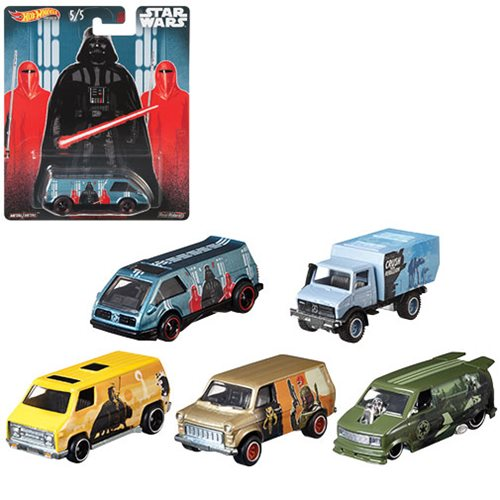 Hot Wheels Pop Culture Star Wars 2019 Vehicle Case