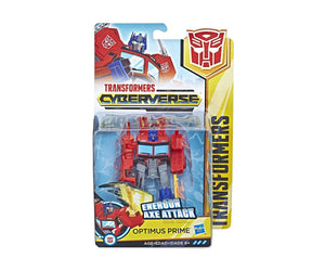 Transformers Cyberverse Warrior Optimus Prime