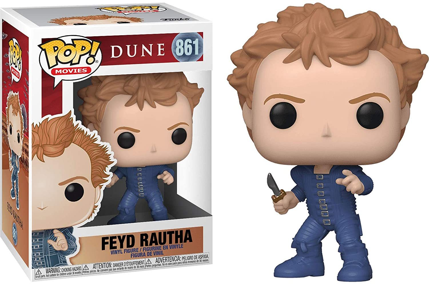 Dune Classic Feyd with Battle Outfit Pop! Vinyl Figure #861