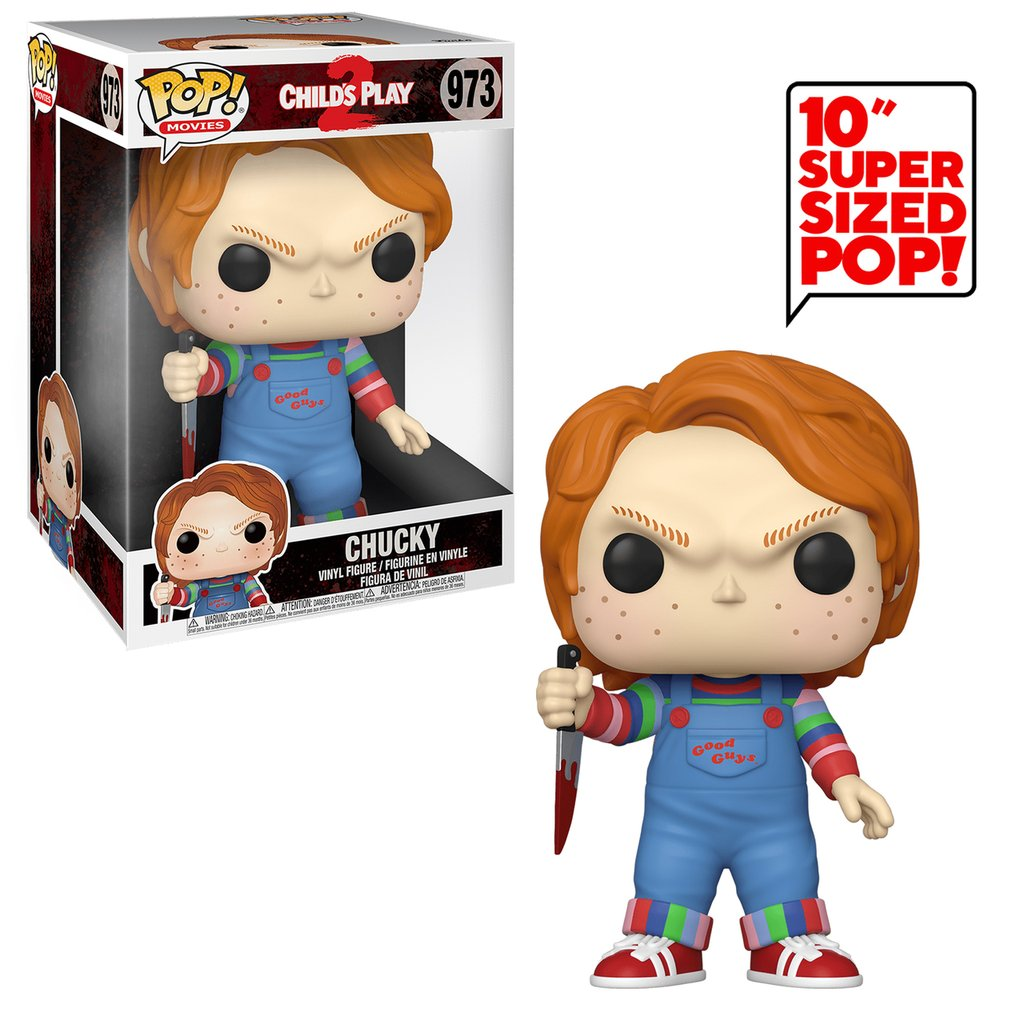 Child's Play 2 Chucky 10-Inch Pop! Vinyl Figure #973