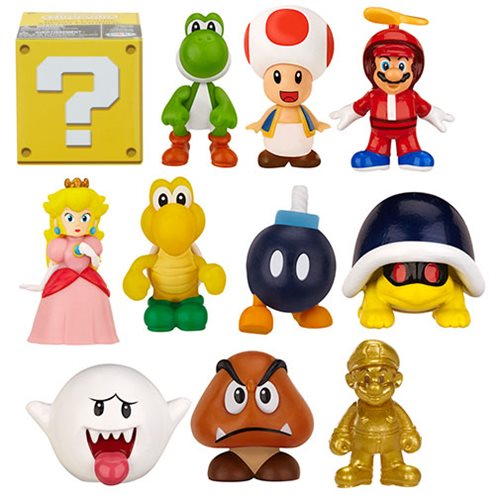 World of Nintendo Blind Pack Mini-Figures Wave 2 Case