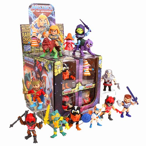 Masters of the Universe Wave 2 Action Vinyl Display Case