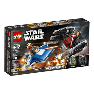 LEGO Star Wars: TLJ A-Wing vs. TIE Silencer Microfighters