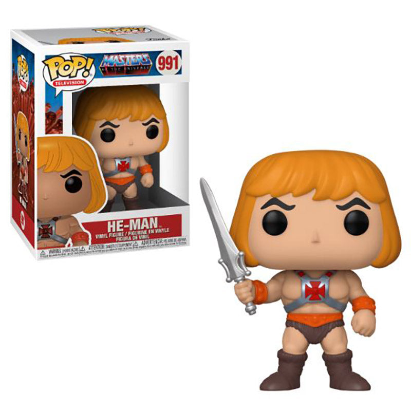 Masters of the Universe He-Man Pop! Vinyl Figure #991