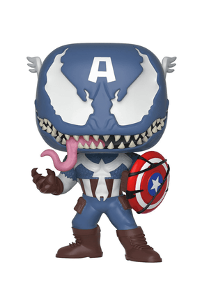 Venomized Captain America Pop! Vinyl Figure # 364