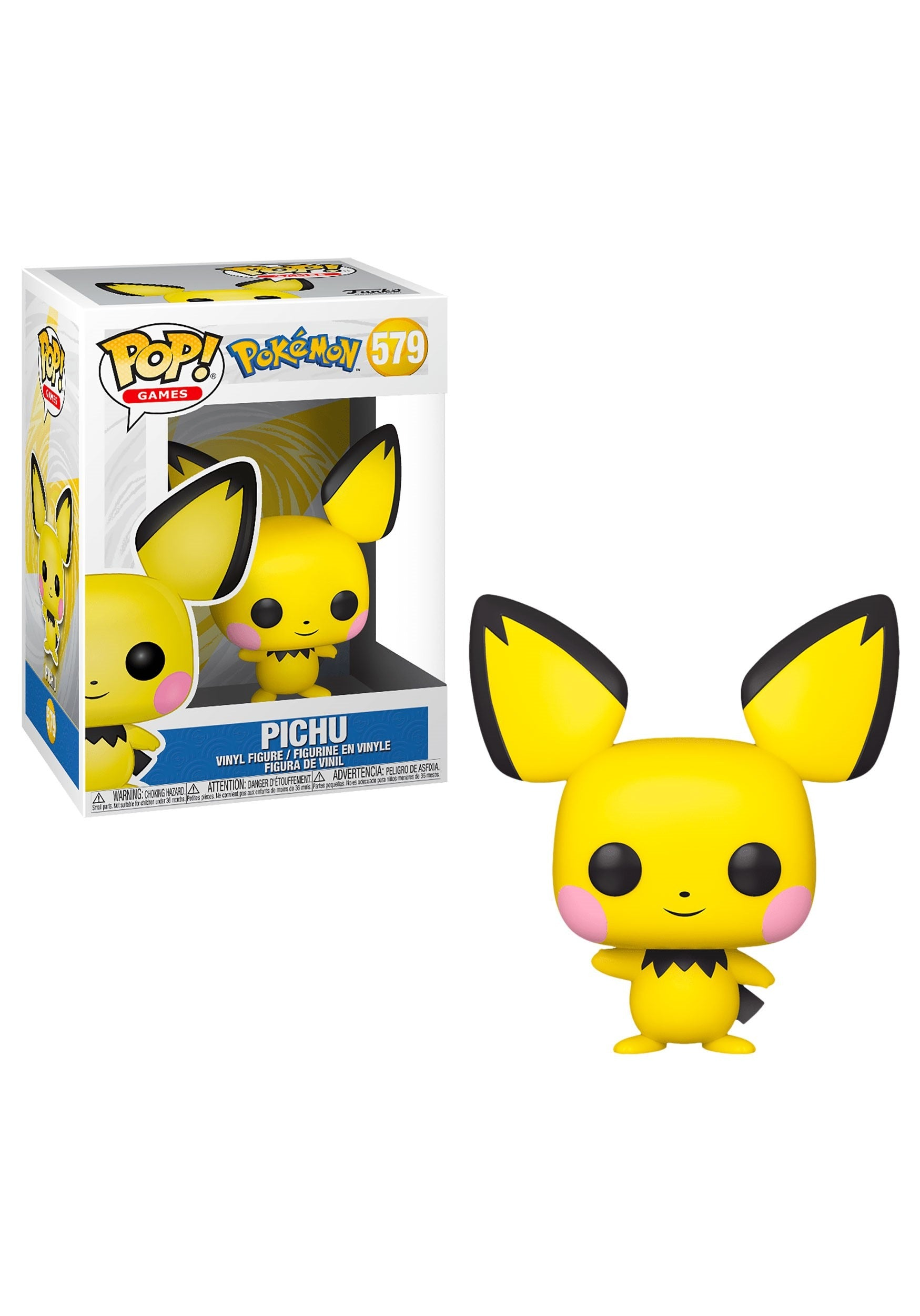 Pokemon Pichu Pop! Vinyl #579