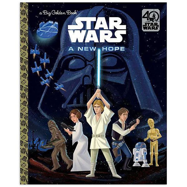 Star Wars: A New Hope 40th Anniversary Big Little Golden Book