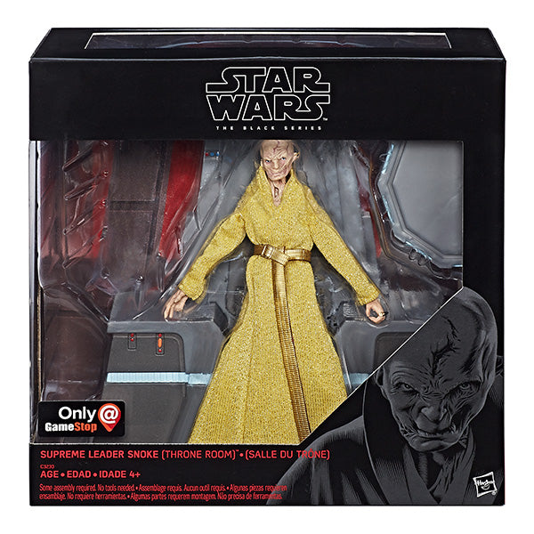 Star Wars: The Black Series - TLJ Supreme Leader Snoke (Throne Room)