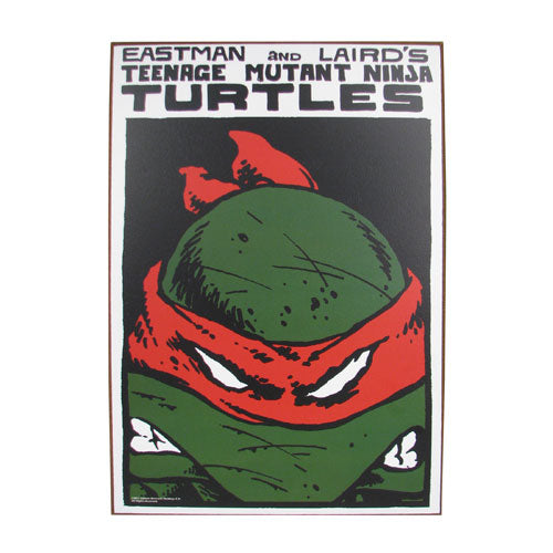 "TMNT ""Red Mask"" Wood Sign"