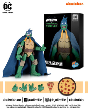 Teenage Mutant Ninja Turtles - Mikey as Batman Action Figure - 2019 SDCC Exclusive