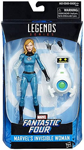 "Marvel Legends Invisible Woman 6"" Action Figure"