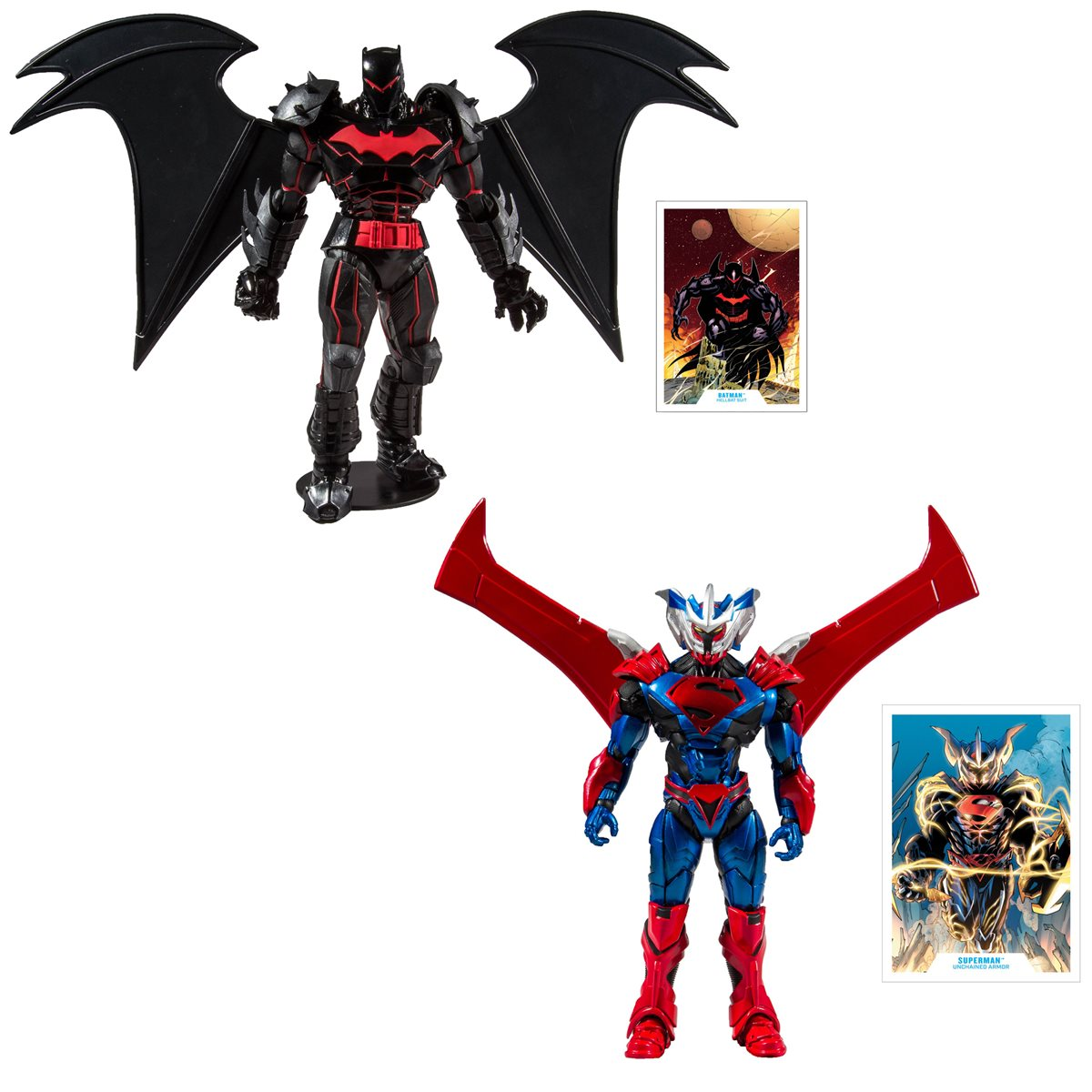 DC Armored Wave 1 7-Inch Action Figure