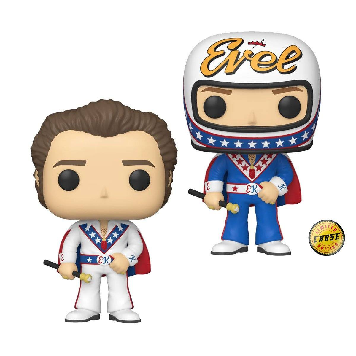 Evel Knievel with Cape Pop! Vinyl Figure #62
