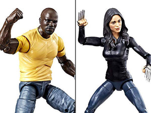 Marvel Legends Luke Cage and Claire Temple 2 Pack