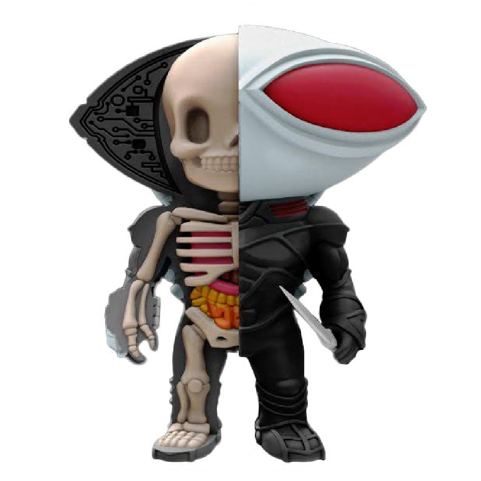 XXRAY Black Manta 4-Inch Vinyl Figure