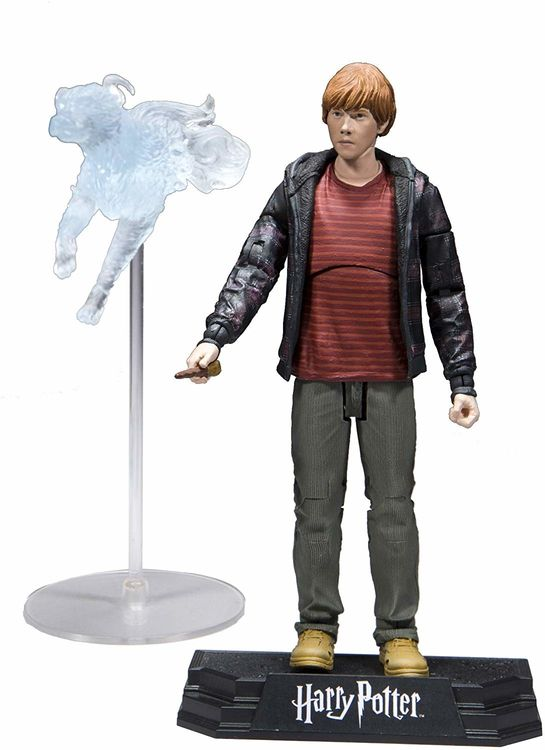 Harry Potter Series 1 Deathly Hollows Ron Weasley 7-Inch Action Figure