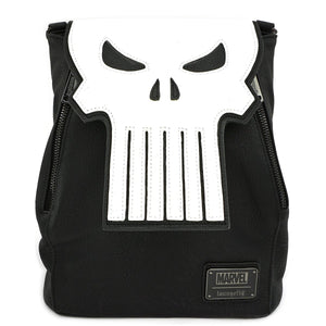 Marvel Punisher Skull Convertible Mini-Backpack