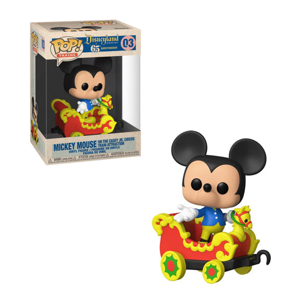 Disneyland Casey Jr. Car 3 with Mickey Pop! Train #03