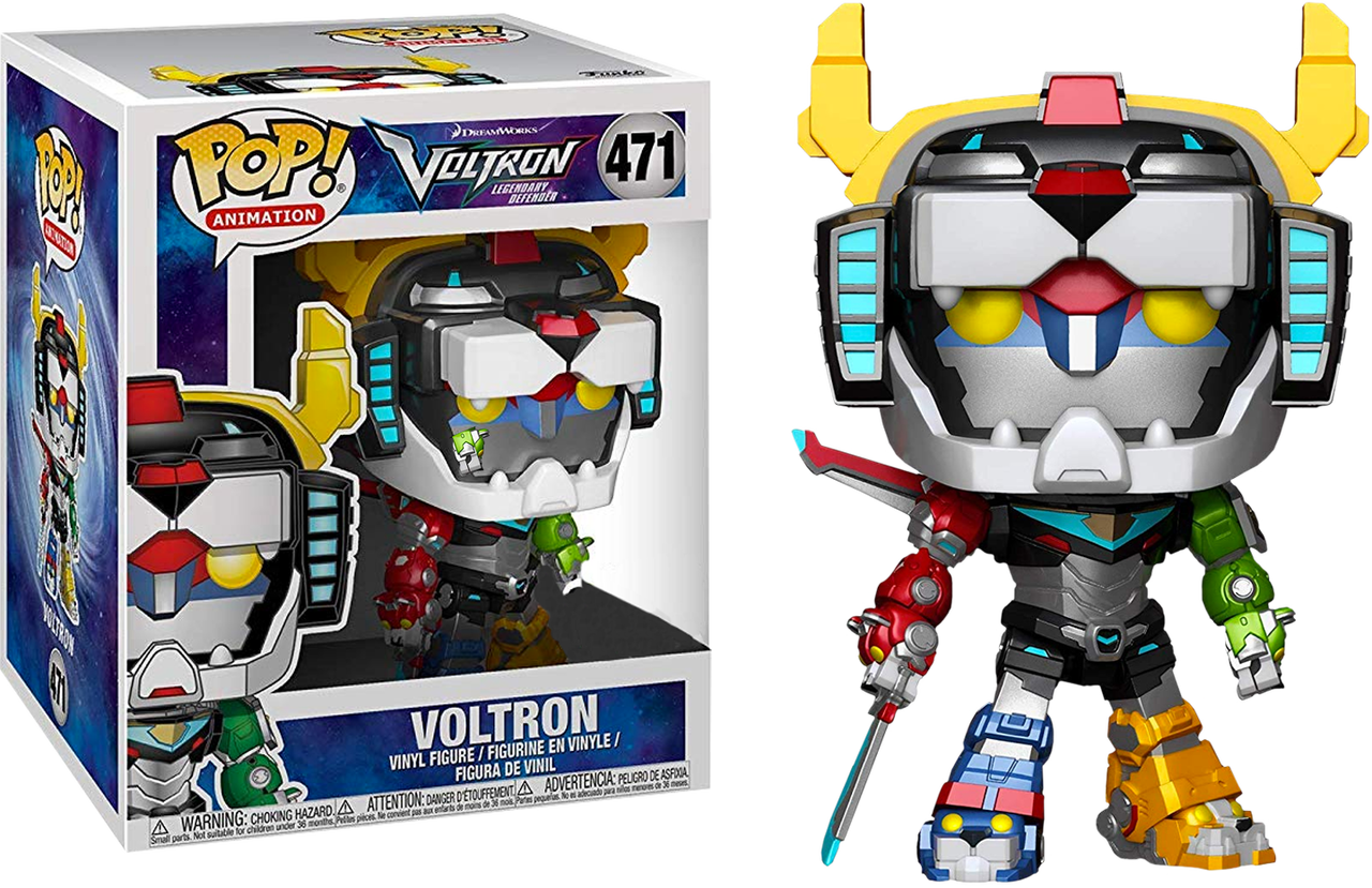 Voltron: Legendary Defender 6-Inch Pop! Vinyl Figure #471