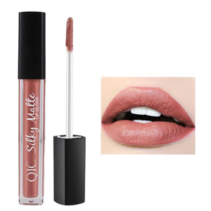 Women Matte Lipstick Long Lasting Liquid Lip Gloss Lip Glaze Cosmetic Makeup Non-stick Lip Gloss