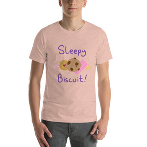 Sleepy Biscuit shirt! Perfect for jimjams!