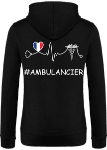 Gilet à capuche - HeartBeat - Ambulancier - 2
