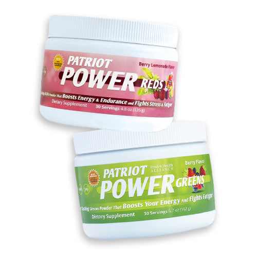 Patriot Power Pack – Greens & Reds Kit