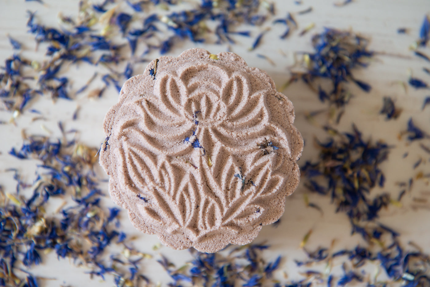 Lavender, Patchouli & Ylang Ylang with Brazilian Purple Clay Luxury Bath Bombs