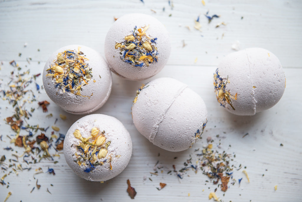 May Chang & Purple Clay Bath Bomb