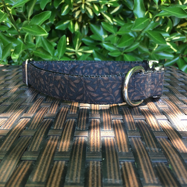 Autumn Shadows Dog Collar - Hound Lines