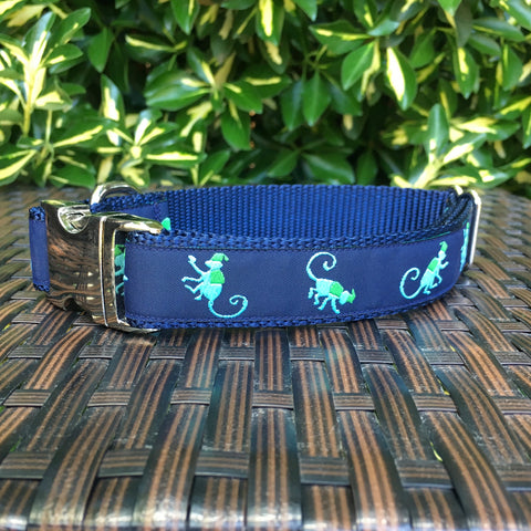 Monkey Around Dog Collar - Hound Lines