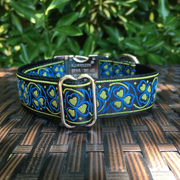 Yellow Hearts Dog Collar - Hound Lines