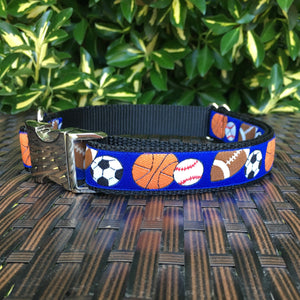 Sports Fan Dog Collar - Hound Lines