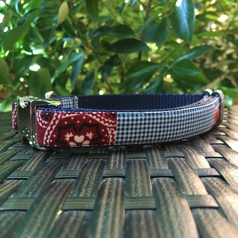 The Picnic Dog Collar - Hound Lines