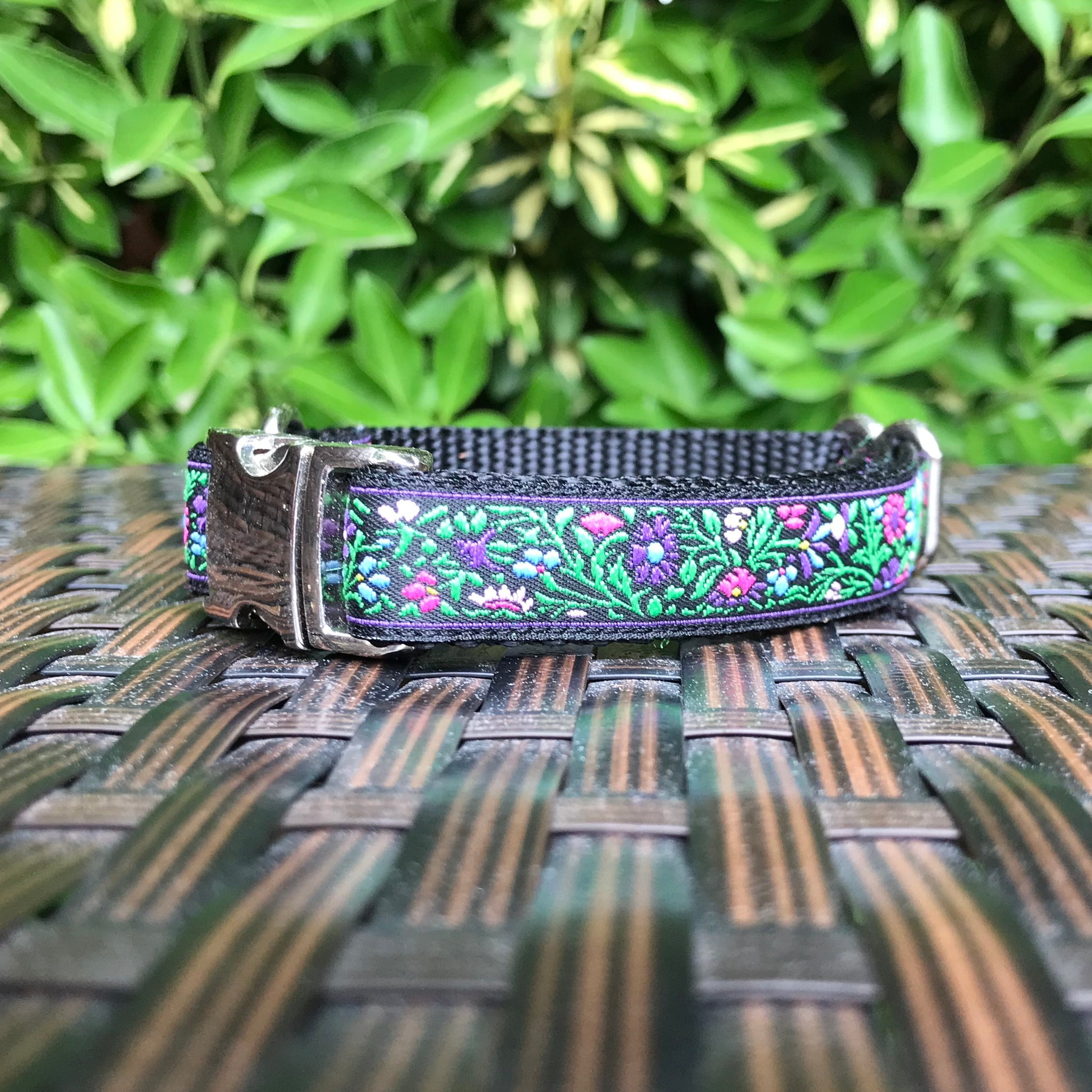 Enchanted Garden Dog Collar