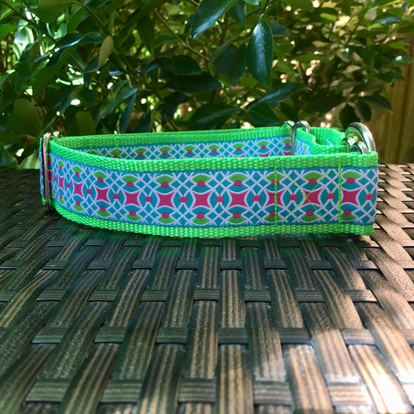 Pops of Pink Martingale - Hound Lines