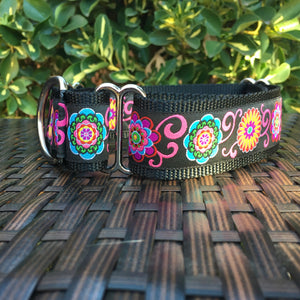 Bright Flowers Martingale - Hound Lines
