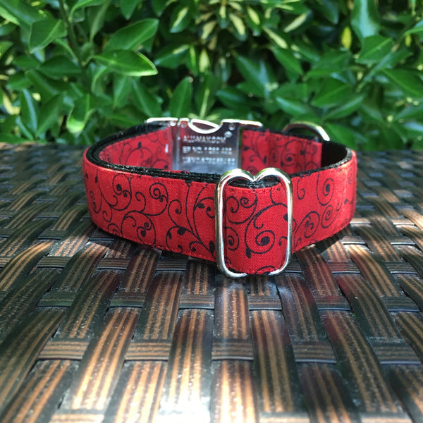 Swirl Away Dog Collar - Hound Lines