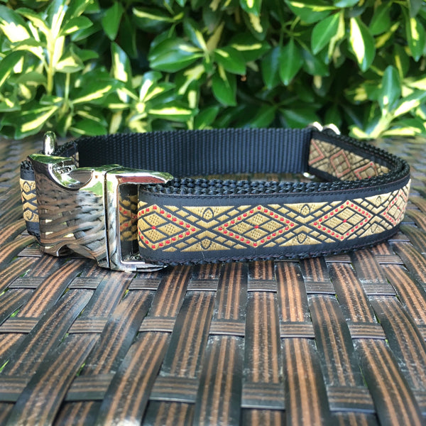 Diamonds Dog Collar - Hound Lines