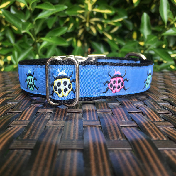 Lady Bugs Dog Collar - Hound Lines