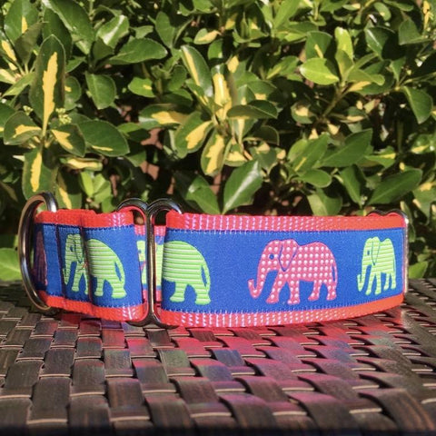 Elephants on Parade Martingale - Hound Lines