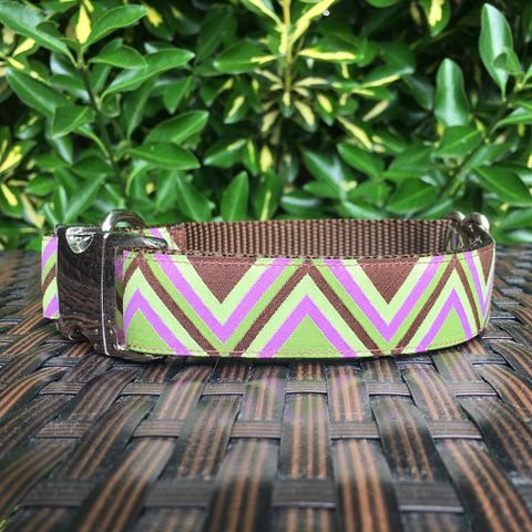The Chevron Dog Collar