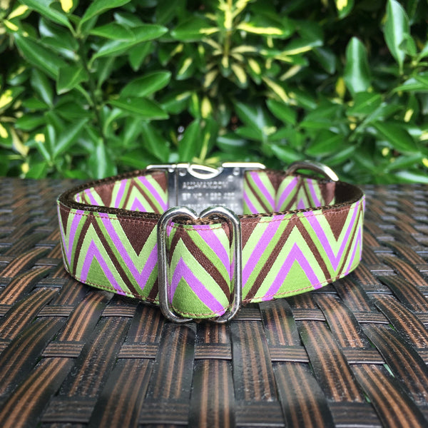 The Chevron Dog Collar - Hound Lines