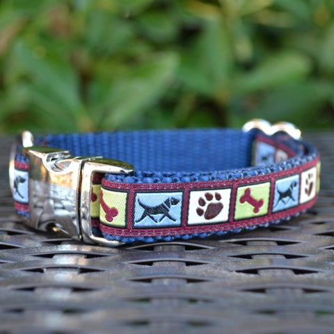 Dog Time Dog Collar - Hound Lines