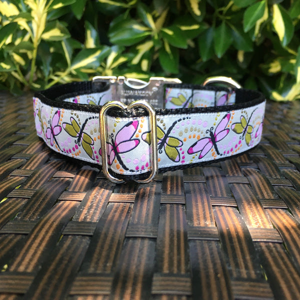 Dragonflies Dog Collar