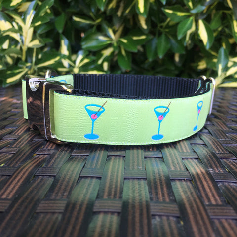 Cocktails Dog Collar - Hound Lines