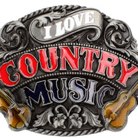 Boucle Ceinture Country | I love country music