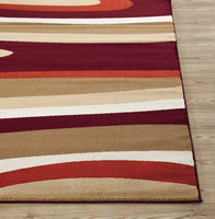 Multi-color Abstract Area Rug
